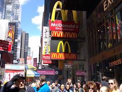 Mcdonald's #6971 New York, NY (COOLCAT433) Tags: new york ny broadway mcdonalds 1560 6971