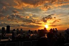 Moon Bar (DaveFlker) Tags: sunset thailand bangkok banyantreehotel moonbar