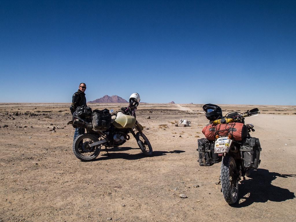 On the Way to Spitzkoppe, Namibia