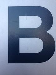 b (timp37) Tags: b illinois capital letter 2014