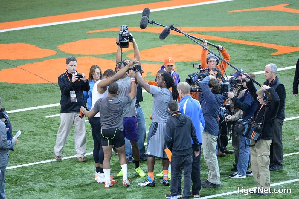 Clemson Photos: 2014, Brandon  Ford, Football, Martavis  Bryant, practice, proday, Roderick  McDowell, Sammy  Watkins, Tajh  Boyd