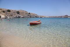 Lindos Beach Rhodes (mugford6120) Tags: beach canon eos 5d rhodes lindos mkii ef24105