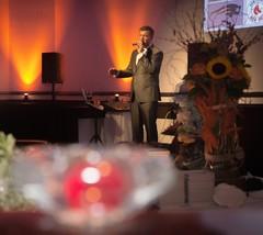 Crooner Tony Cerbo (Photo by Jen Bonin)
