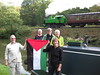 "Train, canal boat, and flag • <a style=""font-size:0.8em;"" href=""http://www.flickr.com/photos/73632013@N00/15413021085/"" target=""_blank"">View on Flickr</a>"