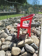 October 1, 2014 (4) (gaymay) Tags: california gay red dog love happy chair desert palmsprings dogpark triad