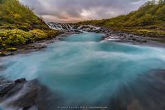 Bruarfoss (Juan C Ruiz) Tags: azul waterfall iceland islandia cascada suurland bruarfoss