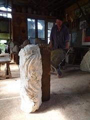 séchage (peltier patrick) Tags: sculpture terre sculptures poterie atelier potier séchage régioncentre henrichemont préparationdufour atelierdhervérousseau hervérousseau
