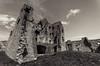 "Auchindoun Castle (M J Robinson Photography) Tags: blackandwhite bw landscape photography scotland nikon moray auchindoun auchindouncastle d5100 ""nikond5100"""