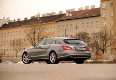 Mercedes CLS 500 shooting brake