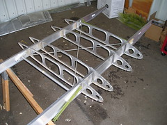 new Milman spars (alex1derr) Tags: wing spar rebuild citabria milman uncovered