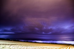 sky storm nature weather night clouds squall landscape... (Photo: NebraskaSC Photography on Flickr)