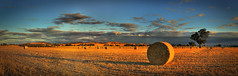 Hay Bales - Dookie Hills (Andrew Fleming Photography) Tags: sunset australia andrew victoria hills dookie hay bales fleming mountmajor andrewfleming goulburnvalley centralvictoria greatershepparton