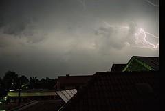 Thunderstorm, Rosendahl-Darfeld, Germany, 21-07-2009 (betadecay2000) Tags: rain weather clouds germany deutschland thunderstorm lightning blitz gewitter thunder regen wetter meteo blitzen weer rosendahl blitze darfeld geblitzt