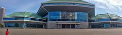 Pyongyang Circus panorama (Ray Cunningham) Tags: panorama circus north korea pyongyang dprk coreadelnorte