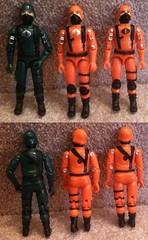 cobra troopers green orange (tarcanes92) Tags: trooper black crimson de major cobra guard females custom bats mortal griffon aco bombardier invasor
