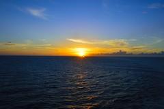 A day at the sea (RandyAlexis) Tags: alexis cruise blue sunset sea sky sun sol water azul clou