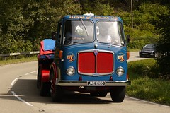 1966 AEC mandator JAE 816D (Ben Matthews1992) Tags: road old tractor classic wales truck vintage wagon heart transport run 1966 historic ludlow lorry commercial vehicle preserved artic articulated lloyds preservation unit waggon mkv 2014 haulage aec heartofwales mandator jae816d