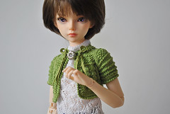 New cardiganes in my etsy store (three mice) Tags: knitting clothes bjd mnf minifee