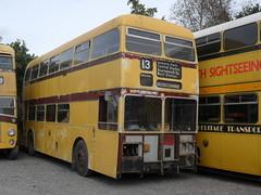 ALJ340B Winkleigh 051014 (ade torquay) Tags: yellow daimler winkleigh alj340b