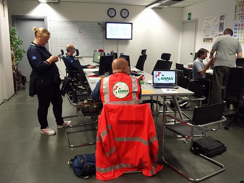 Alluvione a Genova: l'intervento dei volontari Anpas