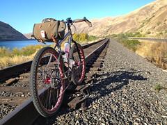 Fall Fargo'ing (Doug Goodenough) Tags: bicycle bike ride salsa fargo ti titanium gravel fall steptoe canyon lewiston idaho 2014 october oct drg53114 drg53114p drg531