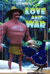 Love and War (Vernon Barford School Library) Tags: vernon barford library libraries new recent book books read reading reads junior high middle school vernonbarford nonfiction paperback paperbacks softcover softcovers folklore nativepeoples native people peoples canada canadian canadians american americans alaska nativeamerican nativeamericans haida haidas legend legends legendary raven ravens legendarycharacter legendarycharacters character characters bird birds graphic novel novels graphicnovel graphicnovels graphicnonfiction david bouchard simon daniel james chris kientz 1 9781770581371 how stole sun fnmi bookcover bookcovers cover covers firstnationsinuitmetis firstnations aboriginal comics cartoons