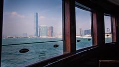 Transfer (hermez) Tags: china blue ferry hongkong asia view starferry transfer kowloon icc hongkongisland victoriaharbour internationalcommercecentre canonef17404lusm canoneos5dmk2 rtw2013