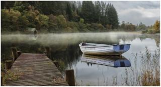 Misty Morning Loch Ard