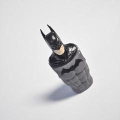 Bat Grimace Complete (skipthefrogman) Tags: fun toy action figure batman kit bandai spru sprukits