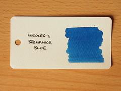 Noodler's Bernanke Blue