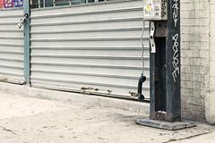 Hold the line (wildwise studio) Tags: nyc newyorkcity ny newyork brooklyn phonebooth abuse
