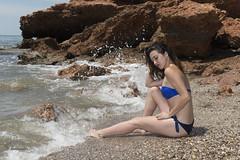 Tamara (juanjofotos) Tags: mar retrato tamara cala pepople marmediterraneo reneg 240700 nikond800 juanjofotos juanjosales