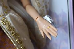 Wedding Rapunzel- Details, Left Hand Closeup (rtkes) Tags: doll disney rapunzel limitededition tangled limitededitiondoll disneylimitededitiondoll weddingrapunzel disneylimitededitionrapunzel