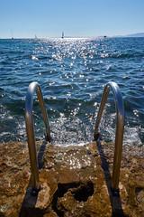Paradise access. (Leonardo Alpuin Photography) Tags: mar mediterraneo none playa piscina mallorca islademallorca calablava