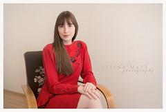 Steinunn Rún (SteinaMatt) Tags: ferming steinunnrúnjakobsdóttir steinunn matthíasdóttir ljósmyndun steinamatt photography steina matt confirmation fermingarmyndataka girl red dress portrait portrett