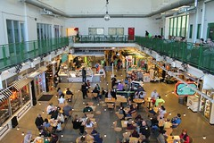 Festival Marketplace (Flint Foto Factory) Tags: flint michigan genesee county urban city winter february 2017 downtown hometown farmersmarket 300 efirstst first wallenberg intersection new building interior festival marketplace festive warm annual chili cookoff 62 degrees fahrenheit shopping groceries baked goods clothing toys beer wine spirits steady eddys restaurant bar rooftop terrace fun presidents day weekend disco ball mirror mirrorball