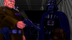 No More Divulging (BarricadeCaptures) Tags: star wars dark forces mission vi imperial detention center orinackra cutscene general rom mohc lord darth vader officer madine arc hammer game screenshot screencap