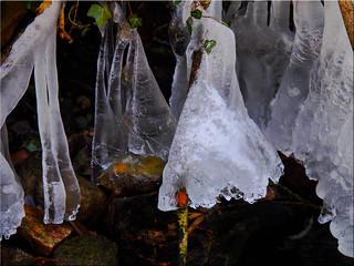 Ice art work