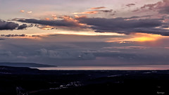 Tramonto-intervallo tra due temporali estivi (kiareimages1) Tags: calabria italia tiriolo golfodilameziaterme tramonti sunsets coucherdesoleil sky ciel cielo paysages paesaggi landscapes tirioloterradeiduemari