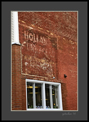 Holland Ghost (the Gallopping Geezer '4.5' million + views....) Tags: sign signs signage business store storefront ad advertise advertisement product smalltown saultstmarie mi michigan upperpeninsula up roadtrip tourist visitor vacation greatlakes lakesuperior water locks soolocks canon 5d3 tamron 28300 geezer 2016 ghostsign abandoned decay decayed worn faded paint painted neglected faint holland