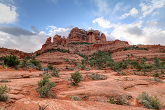 Cathedral Rock, Sedona, AZ (justintimeforrice) Tags: cathedralrock sedona arizona az us hdr rocks formation nature scenery