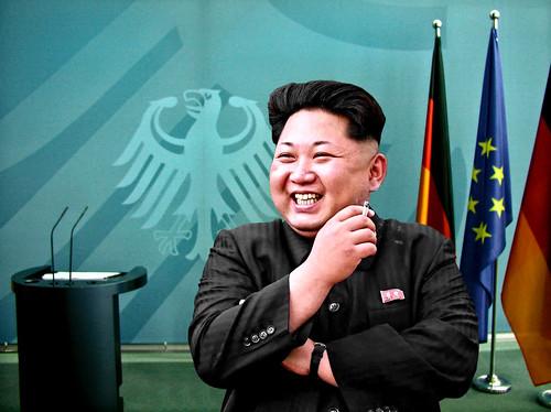 From flickr.com: Kim Jong-un {MID-150658}