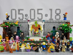 'Save The Date' (justin_m_winn) Tags: brickfanatics lego wedding save date moc