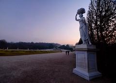 Schönbrunn Palace Garden in Vienna, Austria (` Toshio ') Tags: toshio schönbrunnpalace vienna austria garden statue sunset europe european austrian habsburg tree europeanunion fujixe2 xe2