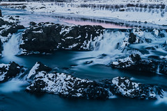 Glanni waterfall (t.basel) Tags: rot iceland island landscape nature snow waterfall waterfalls float floating long time exposure explor discover water iced ice icicle colors reflection mountains mountain hills creek sony a7ii zeiss sonnar 55mm 18 vsco kodak ektar