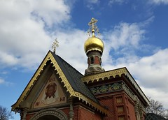 for the victims of the St. Petersburg attack... (Christopher DunstanBurgh) Tags: stpetersburg russia attack terror badhomburg kapelle chapelle chapel russischorthodox russianorthodox orthodox