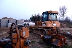 Cat D6K XL (Falippo) Tags: caterpillar cat bulldozer angledozer waterworks lavoriidraulici caterpillard6 earthmoving apripista travauxpublics raupen baufahrzeuge