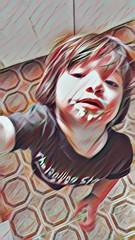 (velvetstardust22) Tags: hiccup kitchenfloor art filter cutie toddler
