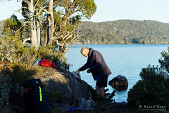 20170302-09-Campsite (Roger T Wong) Tags: australia greatpinetier lakefanny np nationalpark sel70300g sony70300 sonya7ii sonyalpha7ii sonyfe70300mmf2556goss sonyilce7m2 tasmania wha wallsofjerusalem worldheritagearea bushwalk camp hike trektramp walk