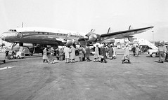 Chicago Midway Airport - Air France - Lockheed Constellation (twa1049g) Tags: chicago midway airport air france lockheed constellation 1953